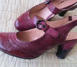 Schuhe, Slingbacks, Gr.37, aubergine-schwarz, von Graceland - Essen