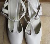 Schuhe, Slingpumps, Gr.37, weiß-creme, Paris - Essen