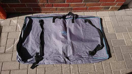 Aufbewahrungstasche mit Reißverschluss grau für Campingstühle neu