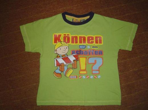 Kinder T-Shirt Bob der Baumeister Gr. 104/110