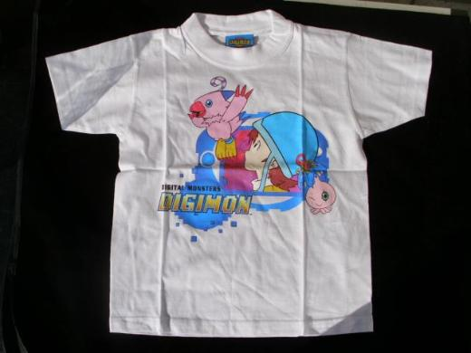 Digimon Kinder T-Shirt Digital Monsters Baumwolle neu 4,-