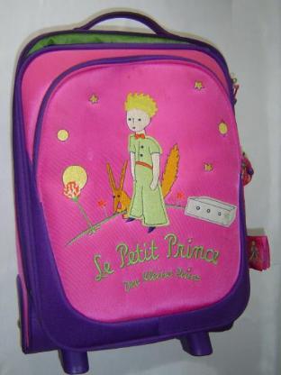 Kinder Trolley leuchtende Rollen Stratic Kleiner Prinz 48x32x17cm Koffer Kinderkoffer - 109