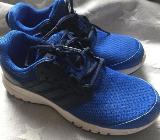 blau blaue Adidas neuwertig  Sneaker top Schuhe - Neuruppin Buskow
