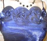 "NEU* Edles Rosen * Romantik * Abend * Abi- Ball * Träger- Kleid ""Lautinal Paris"" Gr. 36/ S, royal- blau * - Riedlingen"