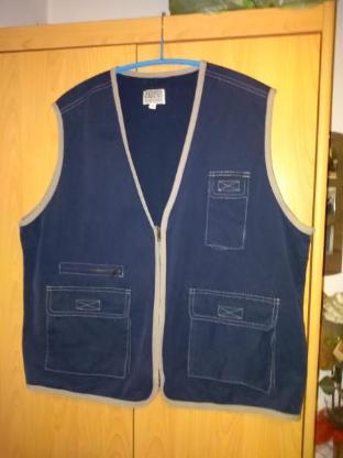 Herren Jeans Weste