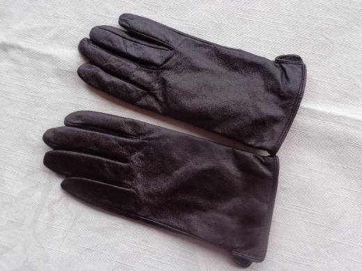 Danmen Leder Handschuhe ESMARA Gr. 8  braun
