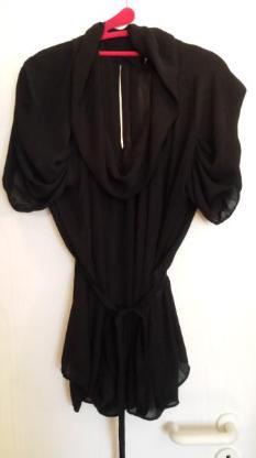 Schwarze sexy Bluse von Zara