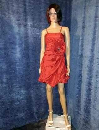 Cocktailkleid in Rot RF 02191836