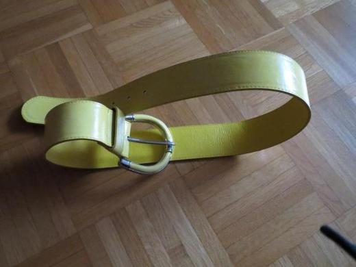 Gürtel, gelb