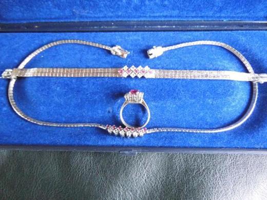 925er / 800er Silberkombination zu verkaufen.