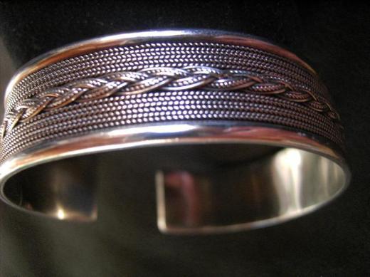 Silberarmspange 925er Silber.