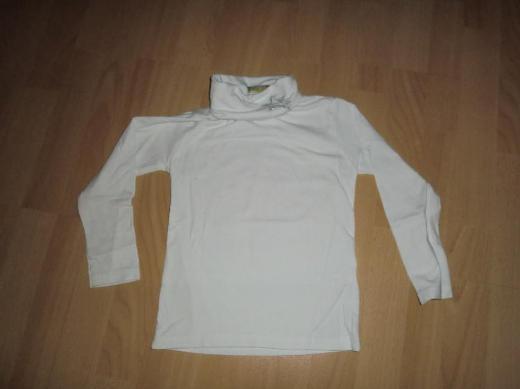Langarmshirt mit Rollkragen für Mädchen zu verkaufen *Größe 110*
