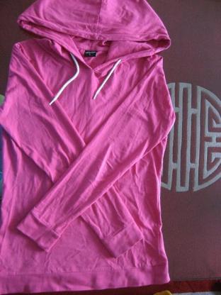Urban Classics Hoodie mit Kaputze, Sweatshirt, Pink, Größe L