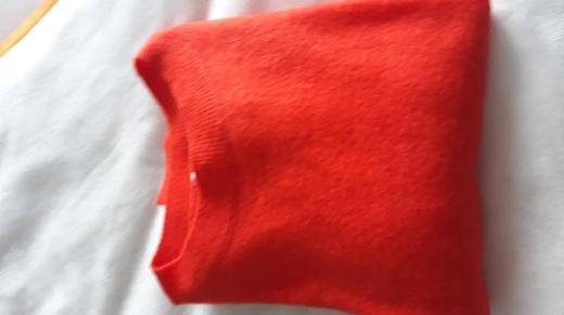 H&M Roter Damen Langarm Pullover Größe XL