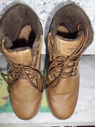 gepflegter Damen Winter Boots Outdoor Schnürer Stiefelette Gr. 42