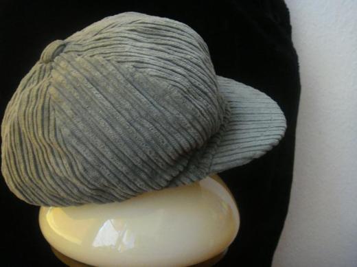 Damen Ballonmütze, olive