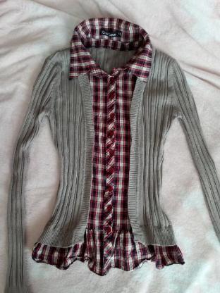 pullover/hemd in eins