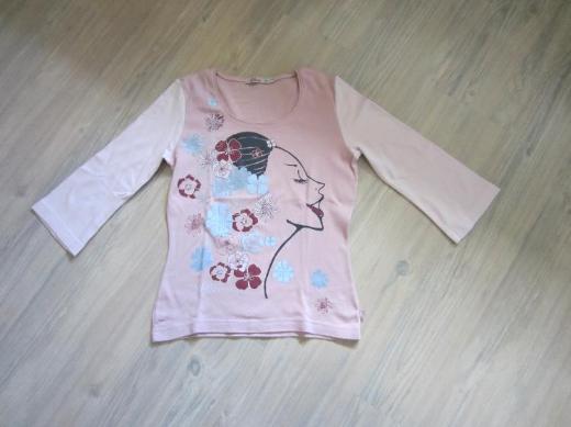 Damen 3/4 arm Shirt rosa in Gr. M von S.Oliver