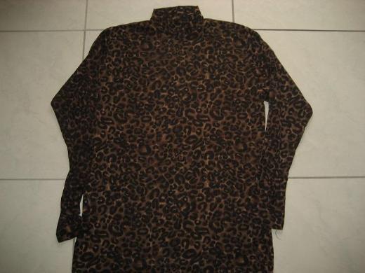 Leoparden, Damen Rollkragen Pulli, Shirt,Langarm ca. 38-42