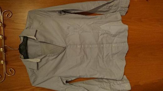 Bluse von H&M, hellblau, Größe 40