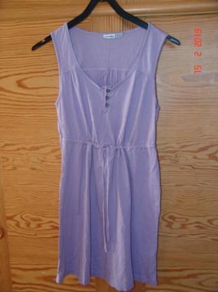 Esmara Kleid ohne Arm - Gr. 36/38 - Flieder