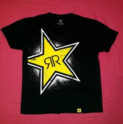 ROCK STAR T Shirt mit Box ROCKST☆R
