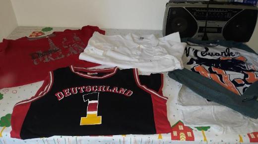 4er Pack Shirts Gr. 170/176