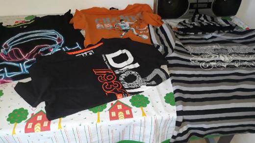 4er Pack Shirts Gr. 158/164