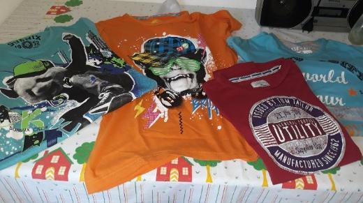 4er-Pack Shirts Gr. 159/164