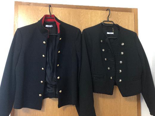 Süße Jacken im Militärstyle