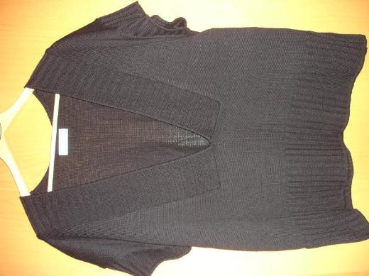 Pullunder / Weste, schwarz, Transparente, Baumwolle-Acryl, Oversize, one size