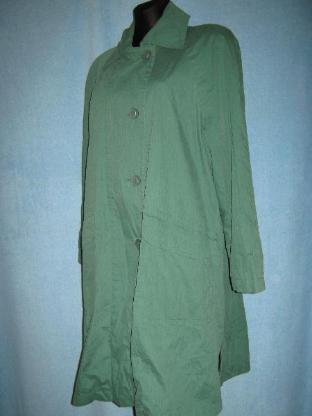 "NEU * Elegant * Allround * Trench Coat * Long- Jacke * Kurz- Mantel ""GIL BRET"" Gr. 42- 44/ M- L, wald * smaragd- grün *"