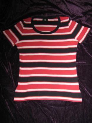 NEU* Klassisches * Streifen *Kurzarm * T-Shirt ''BOGNER'' Gr. 36- 38, 40/ S- M, blau- weiß- rot *