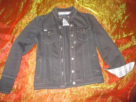 "NEU* Edel, klassische * Jeans- Jacke * Original ""BURBERRY"" Gr. 36- 38/ S, blau- Novacheck *"
