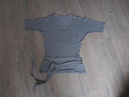 Damen Raglan Shirt grau meliert Gr. M Tom Tailor