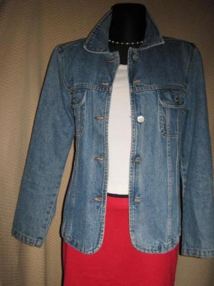 NEU* Modern, klassischer * Jeans- Blazer- Jacke ''Street One'' Gr. 36- 38/ S, blau *
