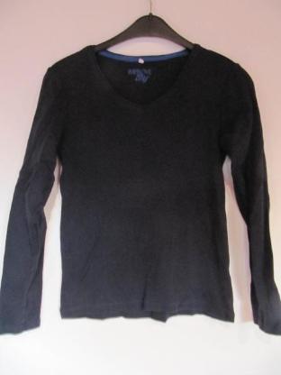 Shirt, langärmlig, schwarz,, neuwertig - Mülheim an der Ruhr