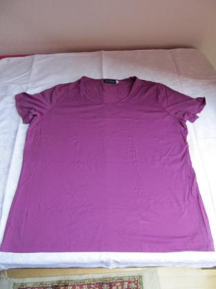 T-Shirt, dunkelpink, Größe XL,