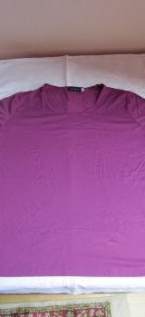 T-Shirt, dunkelpink, Größe XL, - Mülheim an der Ruhr