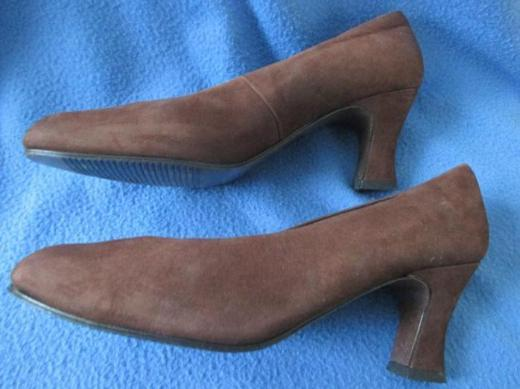 NEU * Klassisch * Business * Ausgeh * Echt Velours * Nubuck * Leder * High Heels * Pumps * Schuhe ''Tamaris'' Original * Gr. 37/ 4 * schoko- braun *