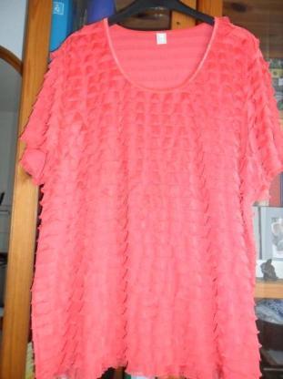 Damen-Bluse sommerlich leicht in Pink