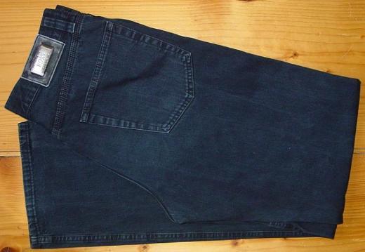 orig. Hugo Boss Jeans W32 lang gebr. Hose Hugo Boss Select Line dunkelblau blauschwarz