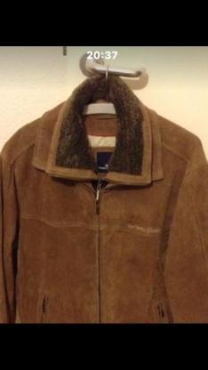 Verkaufe eine Echte Lederjacke von Tom Tailor