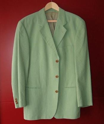 ori. Hugo Boss Sakko neu grün Gr. 50 (M-L) Jackett zu Hose Chinos Jeans