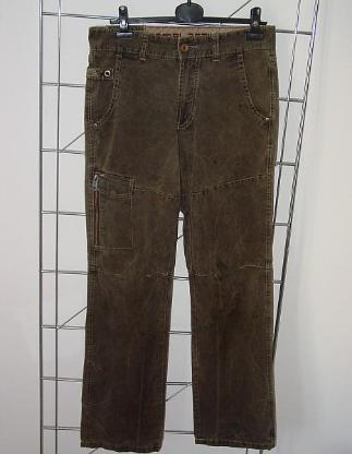 orig. Camel Active Outdoor 32 34 Hose im Cargo Jeans Stil oliv