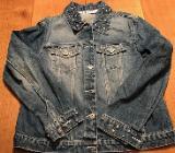 Jeansjacke mit Nieten und Perlen - Weyhe