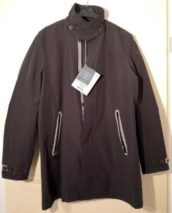 Geox Herren Jacke - Gr.52 - schwarz - leicht, gegen Regen u. Wind