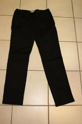 schwarze Stoffhose Größe 40 (M)