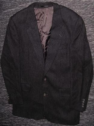 Sakko Gr. 52 Hugo Boss woven by Alexanders of Scotland finest Lambswool  - 182
