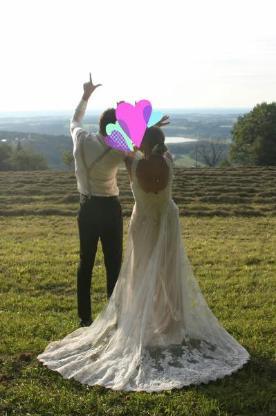 Hochzeitskleid, Brautkleid Gr. 38 / 40